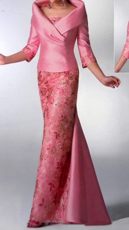 Vestido elegante boda madrid
