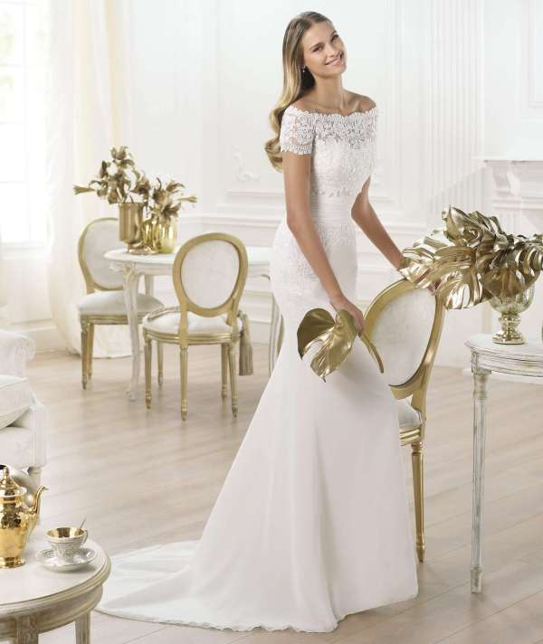 traje / vestido de novia almudena | boda 10 madrid, alquiler y venta