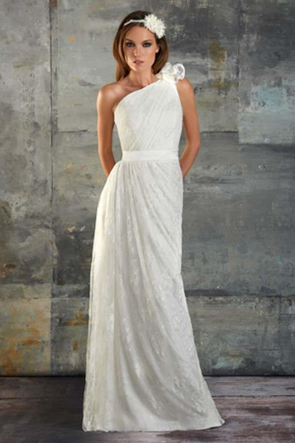 Vestidos novia sencillos alquiler